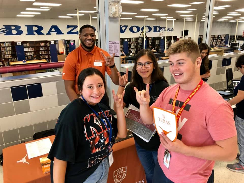 Brazoswood Hosts Successful Fall College/Military Fair2019