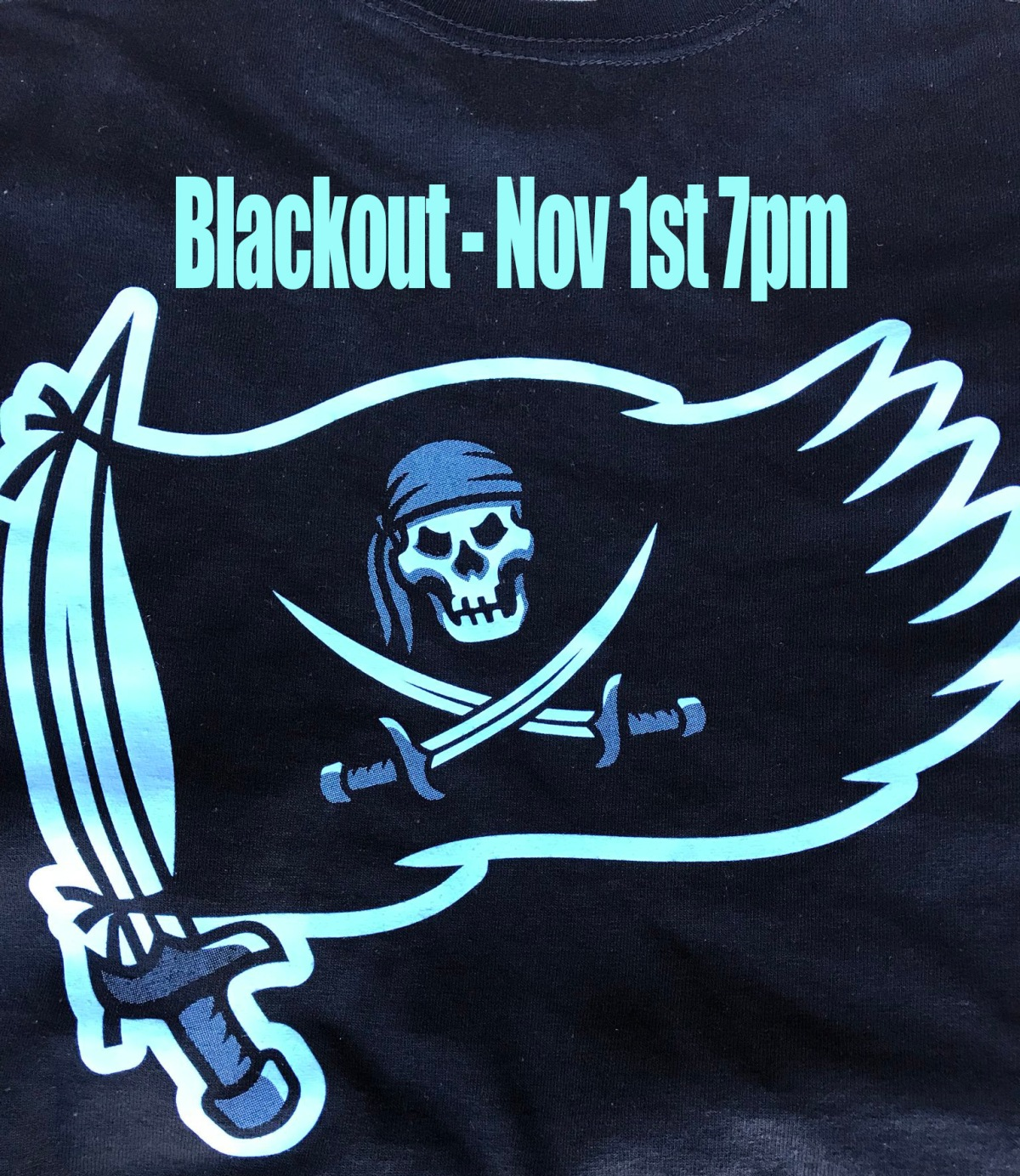 Black Out Game Means More Than BlackUniforms