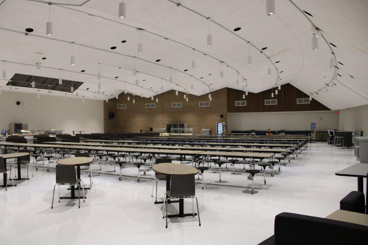 Auditorium Gone; Cafeteria MovesIn